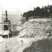 H. O. Rose Lime Works in Petoskey, 1874.